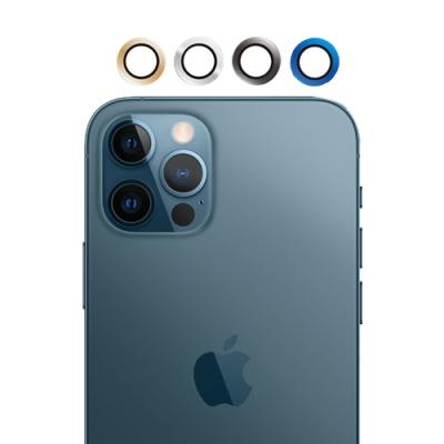 UNIQTOUGH iPhone12 Pro AR 航太鋁合金康寧玻璃金屬鏡頭環 / 四色
