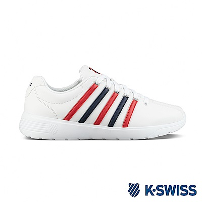 K-SWISS Pro Active L CMF休閒運動鞋-男-白/藍/紅