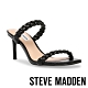 STEVE MADDEN-ZAYNA 編織雙帶方頭細跟拖鞋-黑色 product thumbnail 1