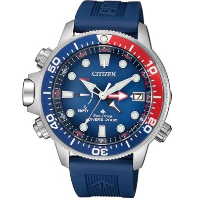 CITIZEN PROMASTER 極限深海光動能潛水錶(BN2038-01L)46mm