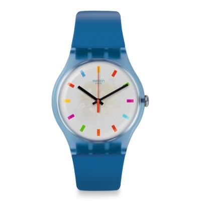 Swatch New Gent 原創系列手錶 COLOR SQUARE -41mm