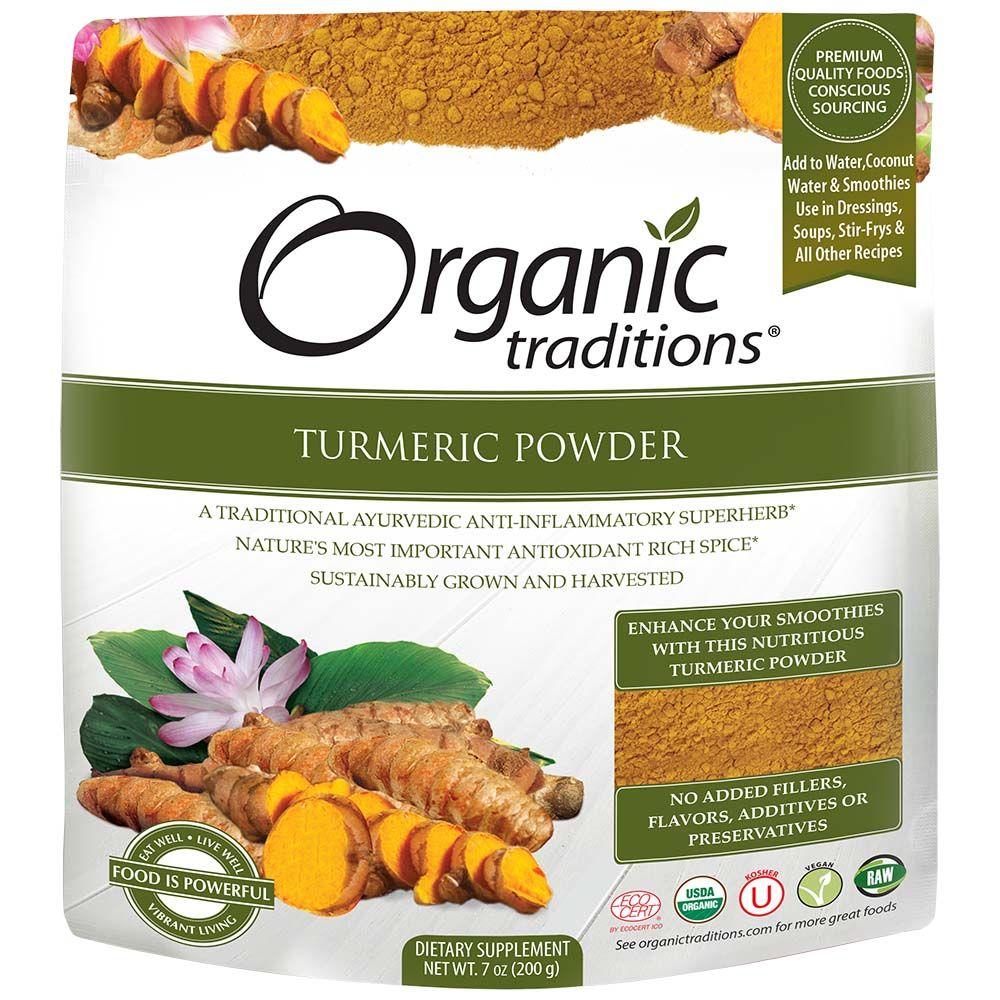 Organic Traditions 有機黃金薑黃粉200g