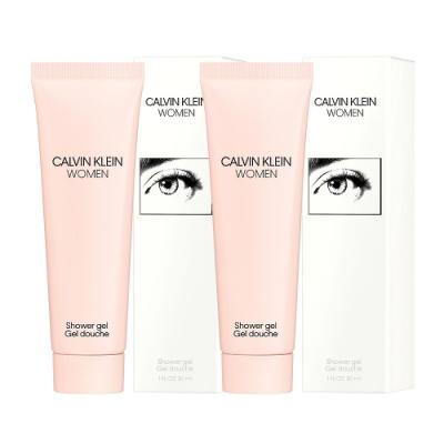 Calvin Klein CK WOMEN 女性淡香精香氛沐浴膠30ml (2入)