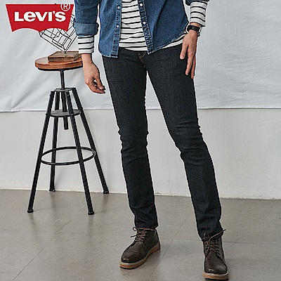Levis 男款 511 低腰修身窄管牛仔長褲 MIJ日本製 原色丹寧