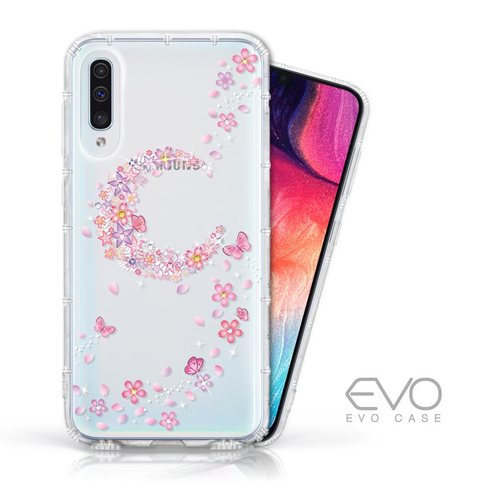 EVO CASE Samsung Galaxy A50 奧地利水鑽殼 - 櫻月