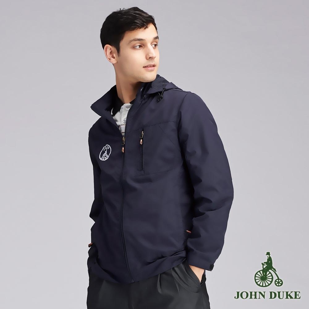JOHN DUKEM約翰公爵英倫質男衝鋒衣外套_丈青(63-9K6851)