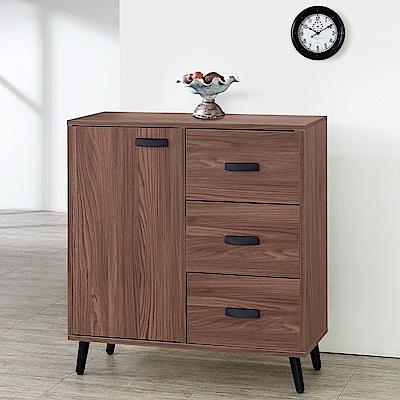 Homelike 達倫2.7尺收納餐櫃-81x41x78cm