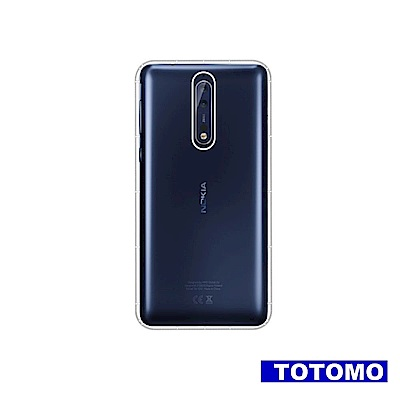 TOTOMO 防摔殼 For:Nokia8保護殼氣墊防摔殼全透高質感
