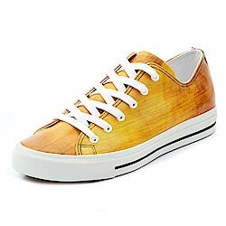【PATINAS】小牛皮休閒鞋 – 淺色木紋