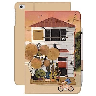 漁夫原創- iPad 保護殼Pro 10.5吋-日式小屋 (含筆槽)