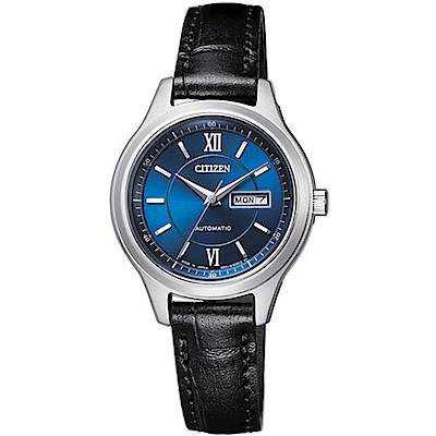 CITIZEN 星辰錶 PAIR系列 限量機械機械女錶-PD7150-03L