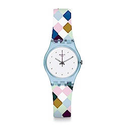 Swatch ARLE-QUEEN 高雅菱格手錶