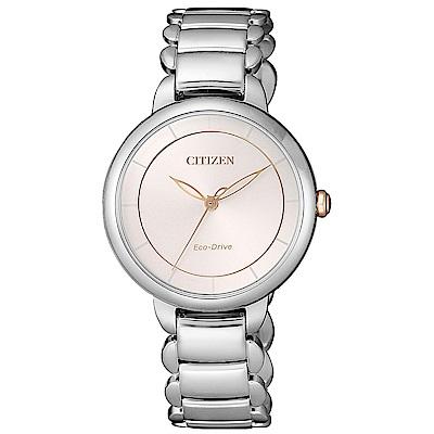 CITIZEN L系列心動時刻光動能腕錶(EM0676-85X)