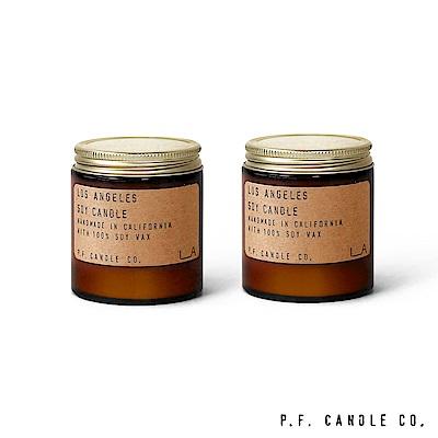 美國 P.F. Candles CO. 洛杉磯限定款二入組 香氛蠟燭 99g*2