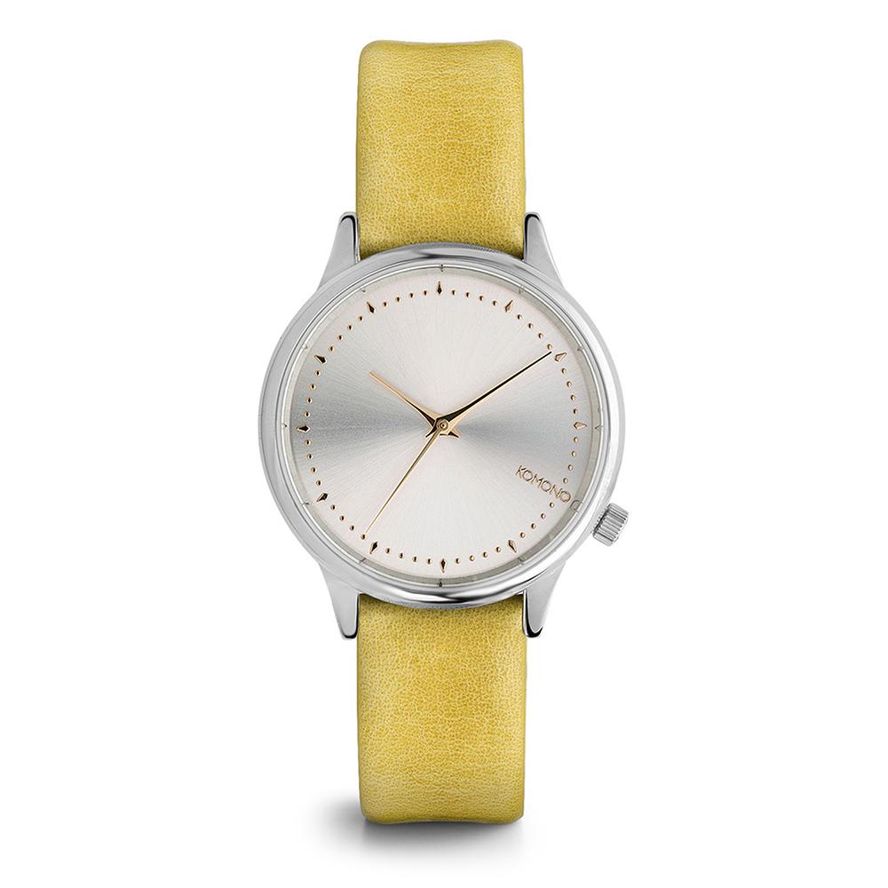 KOMONO Estelle Classic 腕錶-黃金水仙/36mm