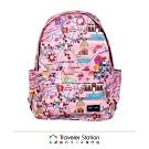 【HAPI+TAS】新型折疊後背包─粉色旅遊景點