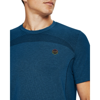 【UNDER ARMOUR】男 Rush Seamless短T-Shirt