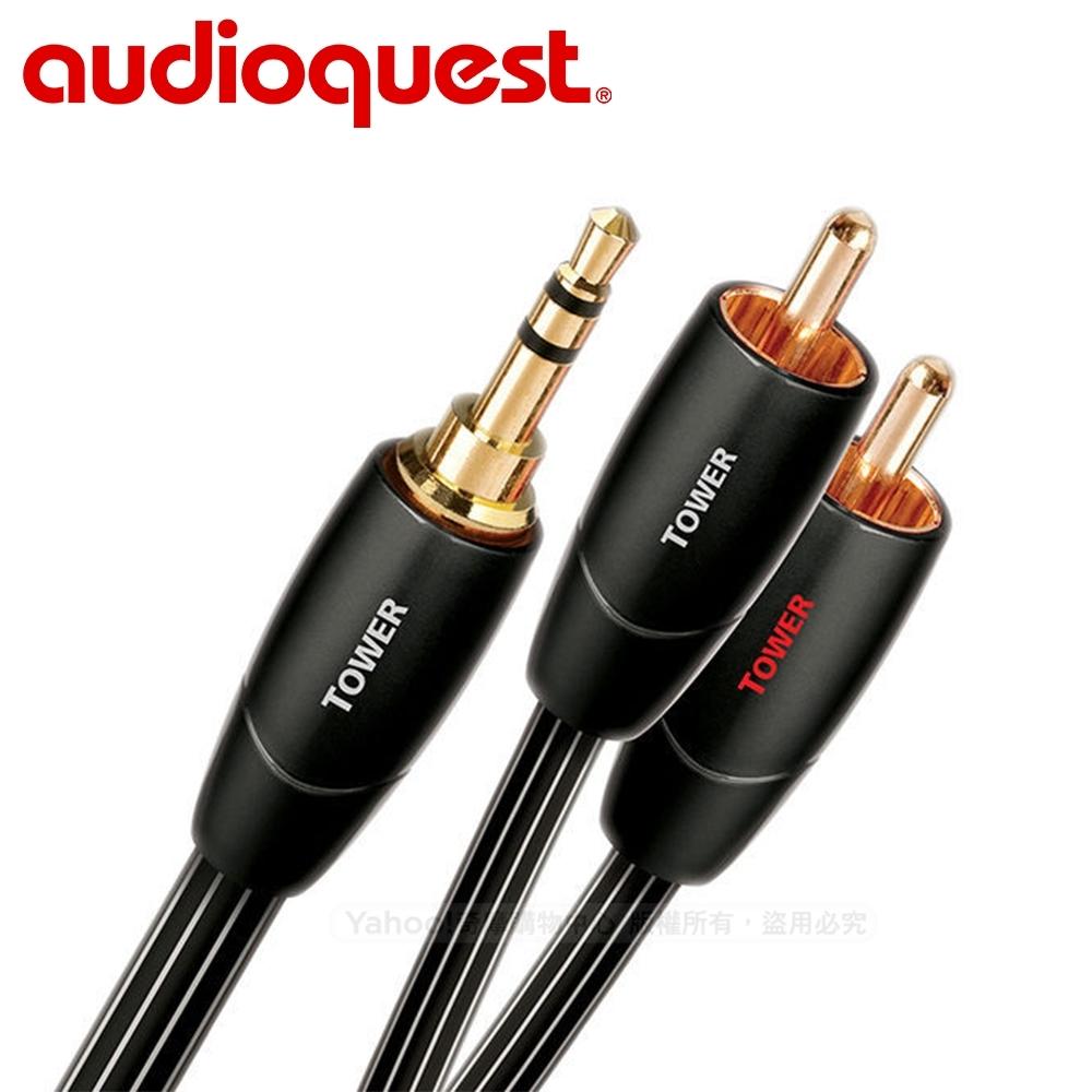 美國 Audioquest Tower 訊號線 (3.5mm-RCA)  - 3M
