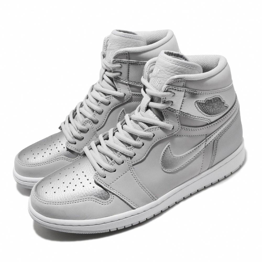 Nike 休閒鞋 Air Jordan 1代 High OG 男鞋 JP Tokyo 限量 球鞋 喬丹 銀色 DC1788029