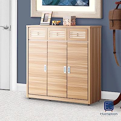 漢妮Hampton卡拉原木色4尺鞋櫃-115.4x39.7x121cm