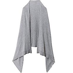 日本COGIT 2WAY素面發熱纖維披肩圍巾9043系列