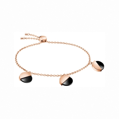 CALVIN KLEIN  Spicy 系列魅力時尚雙色金手鍊