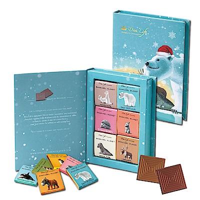 Diva Life 比利時純巧克力片禮盒 聖誕書本限量版B