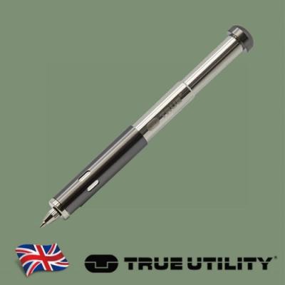 【TRUE UTILITY】英國多功能伸縮原子筆TELESCOPIC PEN -吊卡版(TU258K)