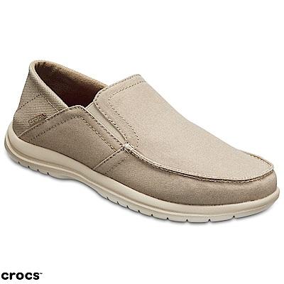 Crocs 卡駱馳 (男鞋) 聖克魯茲敞篷便鞋 204834-2U6
