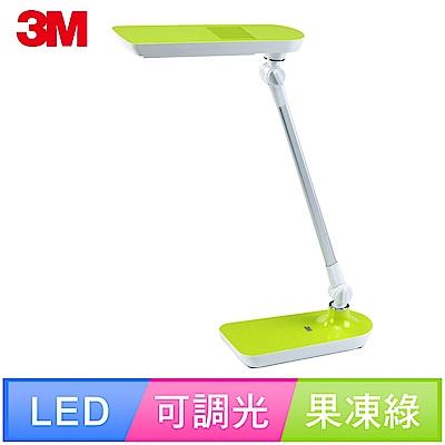 3M 58度LED可調光博視燈桌燈檯燈-LD6000 (果凍綠) 抗眩光 防眩光 觸控 開學