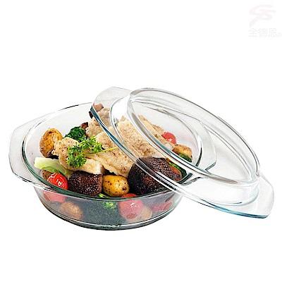 金德恩 兩用耐熱玻璃調理鍋26cm