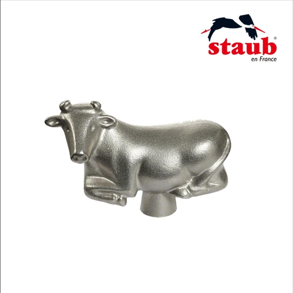 法國Staub 牛造型鍋蓋頭