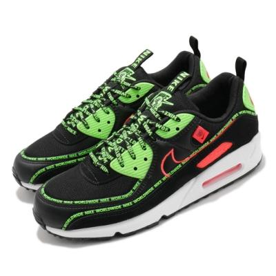 Nike 休閒鞋 Air Max 90 WW 運動 男鞋 基本款 氣墊 舒適 簡約 球鞋 穿搭 黑 綠 CK6474001