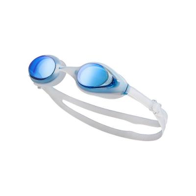 NIKE FLEX MIRROR成人訓練型泳鏡 白 NESSA184-400_OS