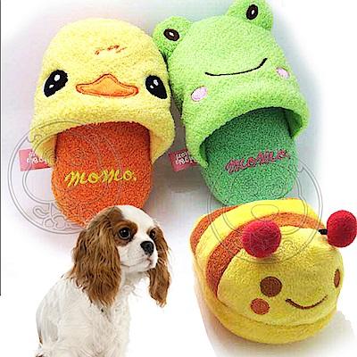 dyy》寵物小動物拖鞋BB發聲玩具-長15cm