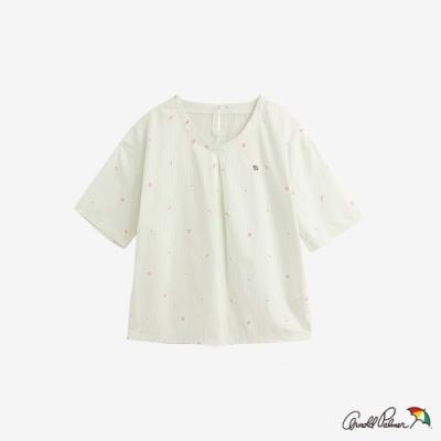 Arnold Palmer-女裝-滿版印花上衣-黃