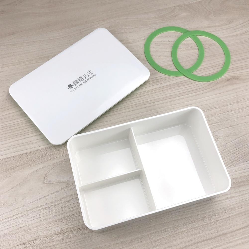 Mr.nT 無毒先生 安心無毒可微波可電鍋加熱餐盒/便當盒1150ML(快)