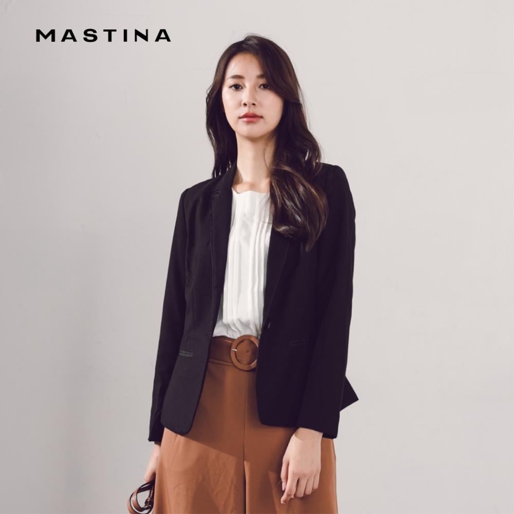 【MASTINA】優雅長袖西裝-外套(二色)