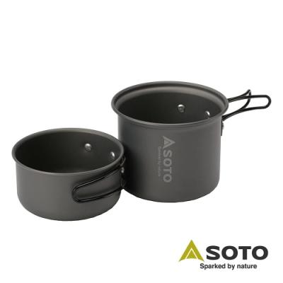 日本SOTO雙人輕便套鍋 SOD-510