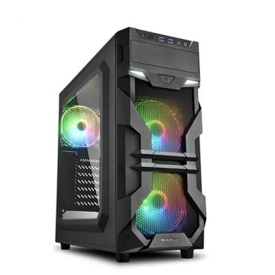Sharkoon 旋剛 VG7-W 光影者 ARGB 透側 ATX 電腦機殼 電腦主機