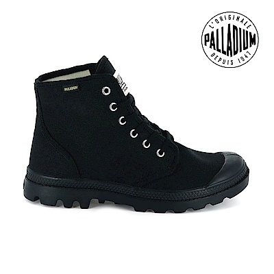 Palladium Pampa Hi ORIGINALE女鞋-黑