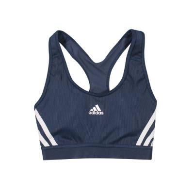 ADIDAS 女 BT 3S RIB BRA 運動內衣 有氧韻律BRA(短袖)