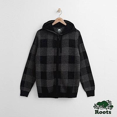 Roots 男裝- 曼尼托連帽毛衣-灰