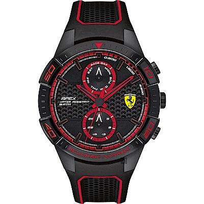 Scuderia Ferrari 法拉利 APEX日曆手錶(FA0830634)-44mm