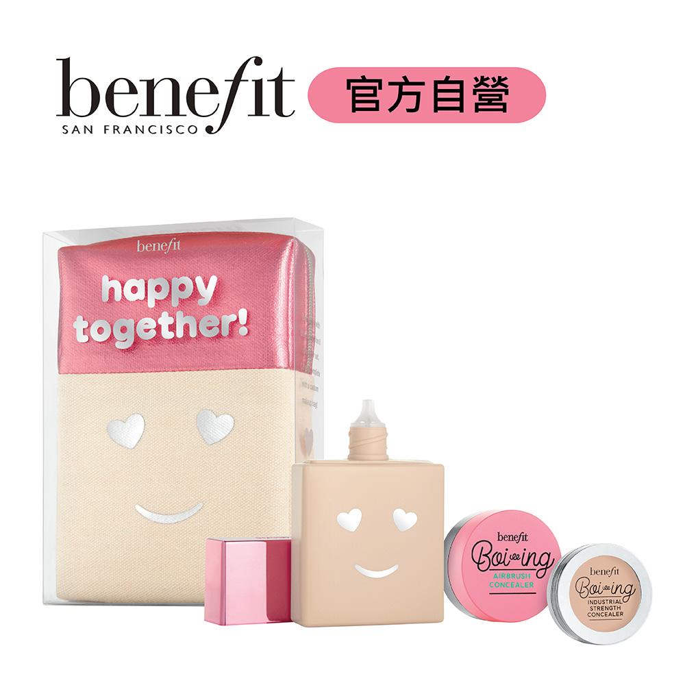 benefit Hello Happy包可愛限量組02號(柔焦防曬粉底液30ml三件組)