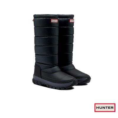 HUNTER -女鞋 - Original長筒雪靴-黑