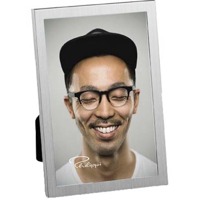 《PHILIPPI》簡約髮絲紋相框(4x6吋)