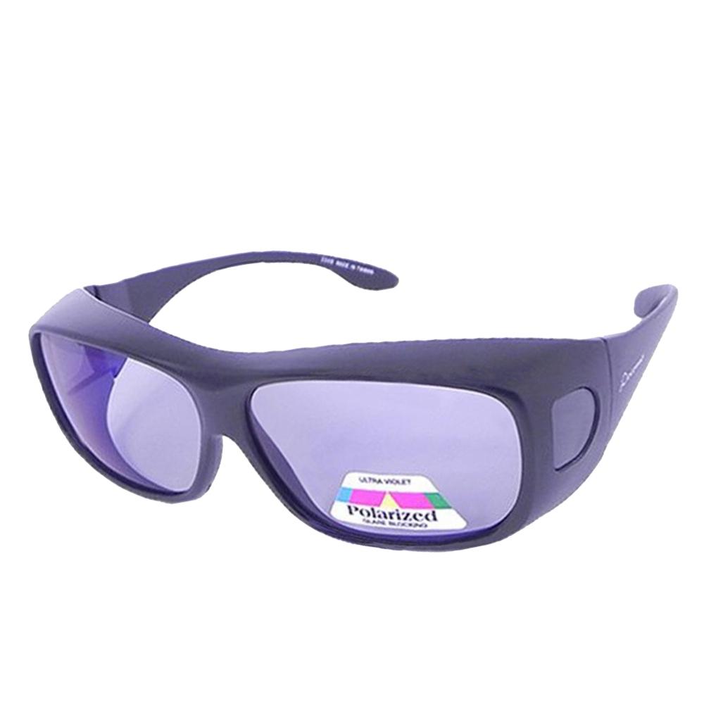 【Docomo】加大型全覆式抗藍光套鏡 抗紫外線偏光設計 3C族必備(抗UV+抗藍光 雙抗設計)