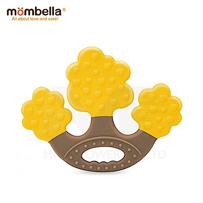 【任選】英國《mombella 》蘋果樹固齒器(黃色)