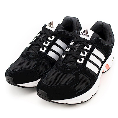 ADIDAS-EQUIPMENT10女慢跑鞋BW128-黑